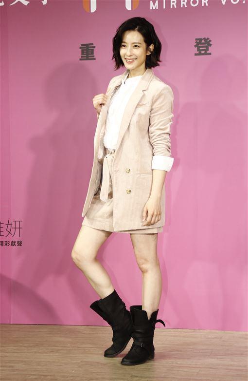 賴雅妍。(記者林聖凱攝影)