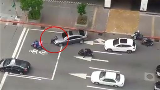 人肉擋車,BMW,東區,台北