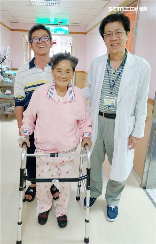 黃疸,衛生福利部,台北醫院,腫瘤,歐亮宏,手術,擲笅,聖笅圖/台北醫院提供