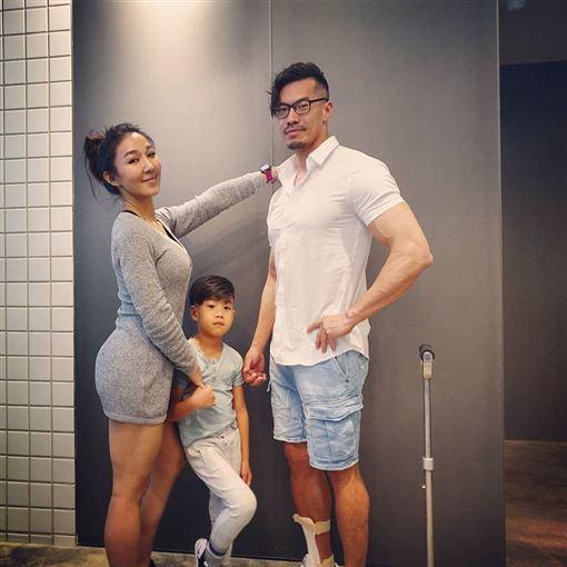 筋肉媽媽(翻攝自臉書)