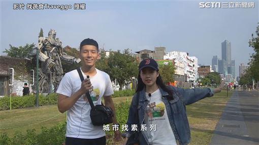 ▲Hao跟Yang是一對愛吃素食美食的Vegan couple,他們要打破一般人對素食者的迷思。(圖/找蔬食Traveggo 授權)