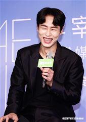 李宰旭來台參加「台灣媒體見面記者會」。(圖/記者林聖凱攝影)