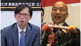 韓國瑜、黃國昌 組合圖/資料照、記者林恩如攝影