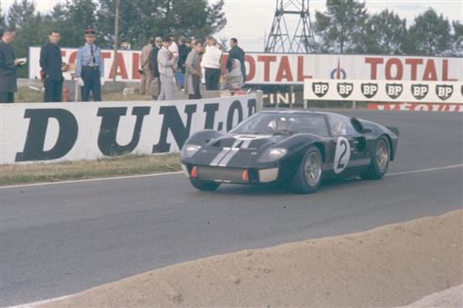 ▲1967年開始稱霸利曼的Ford GT40。(圖/Ford提供)
