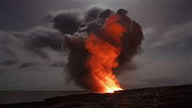 火山,垃圾,焚燒,可行度,危險,不穩定