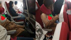 飛機,空姐,乘客,小可愛,北半球 圖/翻攝加藤軍路邊隨手拍
