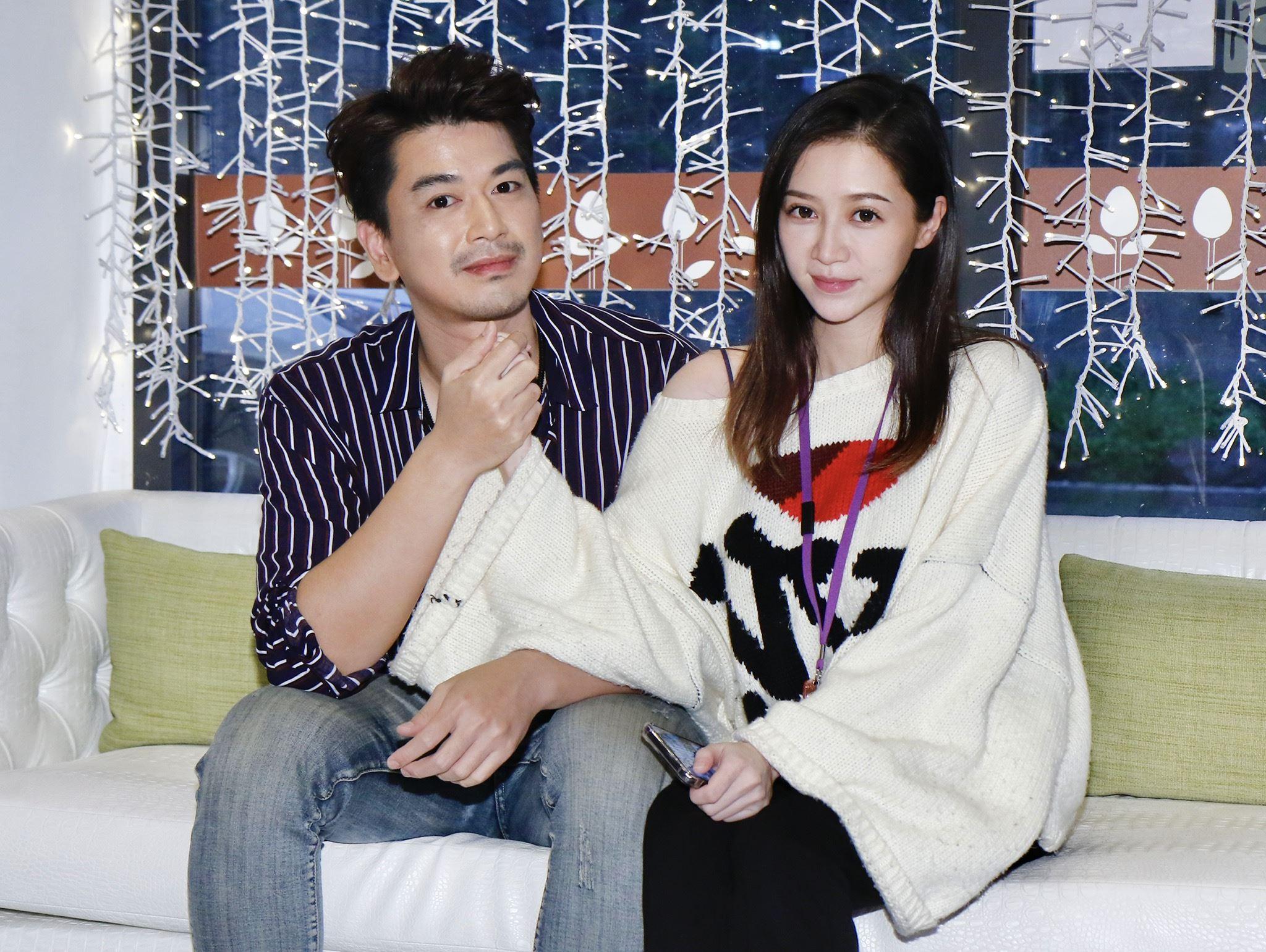 潘逸安與辣妻帶女兒溫馨幸福。(圖/記者林聖凱攝影)