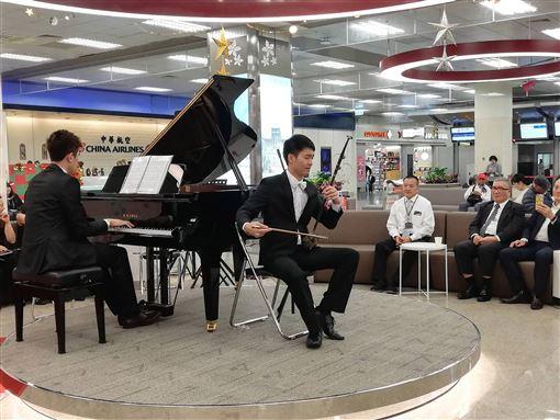 松山機場,感恩音樂會,免費,民眾,成常客(圖/中央社)