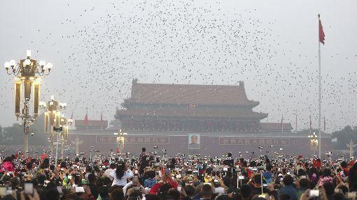 美國,川普,香港人權法案,北京,選擇有限(圖/中新社)中央社