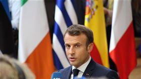 法國,馬克宏,北大西洋公約組織,缺乏戰略合作,腦死,危機示警(圖/中央社)