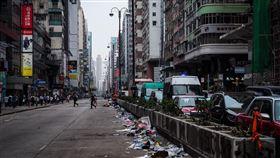 香港反送中,高度關注,華郵,北京,不解民主(圖/中央社)