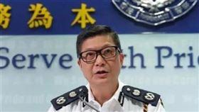香港警務處,鄧炳強,支持,檢委會,調查動盪(圖/翻攝自微博)