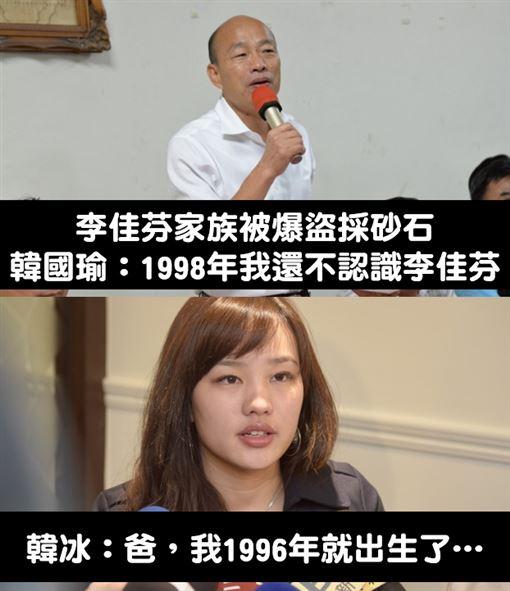 韓國瑜切割妻「不認識」!證據神打臉 網:為選舉拋妻棄女打馬悍將粉絲團臉書