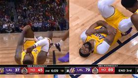 NBA/打前東家 他竟連傷詹皇一眉 NBA,洛杉磯湖人,LeBron James,Anthony Davis,紐奧良鵜鶘,Josh Hart