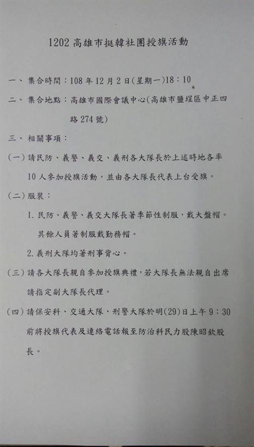 簡煥宗,高雄,警局,韓國瑜,選舉