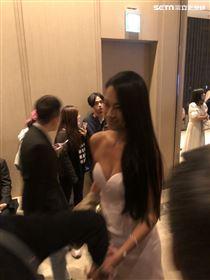 毛加恩婚禮,阿中,王麗雅(圖/記者林芷卉攝影)