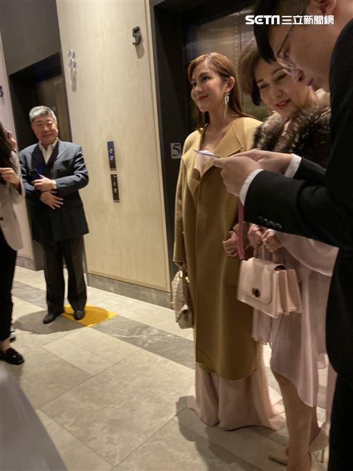 毛加恩婚禮,王宇婕,蕭瑤(圖/記者洪素津攝影)