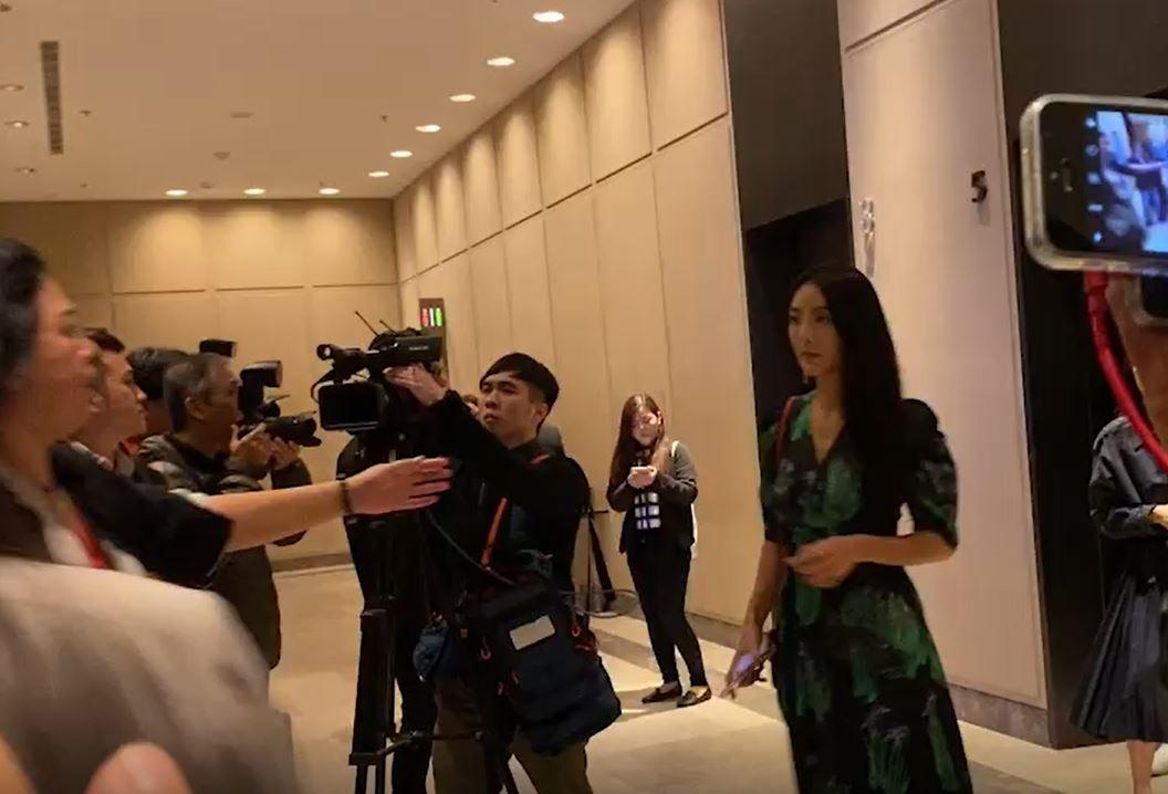 毛加恩婚禮,吳速玲(圖/記者方佳琳攝影)