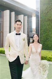 毛加恩,羅雯,婚禮。圖/傑星傳播有限公司提供