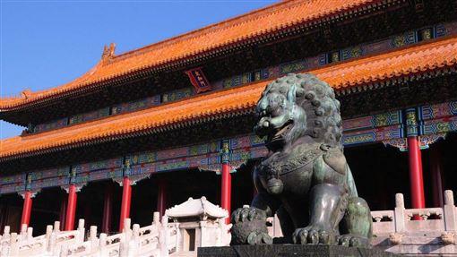 北京紫禁城,皇帝,龍椅,黃花梨