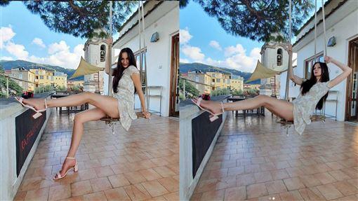 節目,籃球,身材,紀錄,身高,模特兒,英國,俄羅斯,Ekaterina lisina, 圖/翻攝自Ekaterina lisina IG