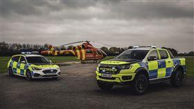 ▲英國性能警車Ford Focus ST Estate、Ranger Raptor(圖/翻攝網路)