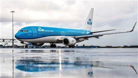 荷蘭皇家航空公司(KLM)。(圖/翻攝自臉書)