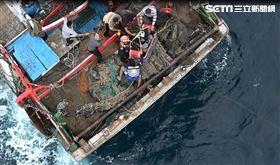 海巡,外籍漁工,斷指 海巡署提供