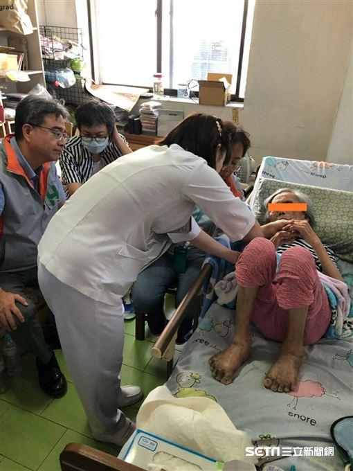 年近90歲的黃奶奶(化名)在居家醫療團隊的照護下,順利治好壓瘡。(圖/台北市聯合醫院提供)