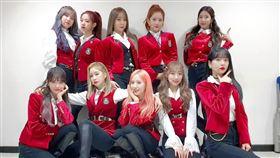 南韓女團「宇宙少女」在少了大陸籍成員吳宣儀、程瀟和孟美岐之後,目前以10人體制繼續演藝活動。翻攝IG