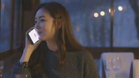 崔智友與匿名好友「糖果」通話。(圖/中天提供)