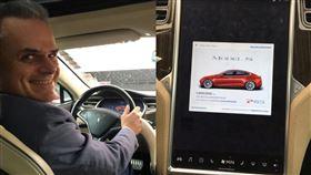 特斯拉,維修費,里程數,Hansjörg Gemmingen,Model S P85,Tesla,電動車, 圖/翻攝自Hansjörg Gemmingen推特