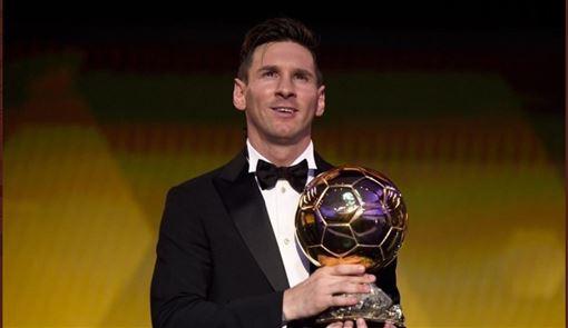 ▲梅西第6度獲得金球獎殊榮。(圖/翻攝自推特)