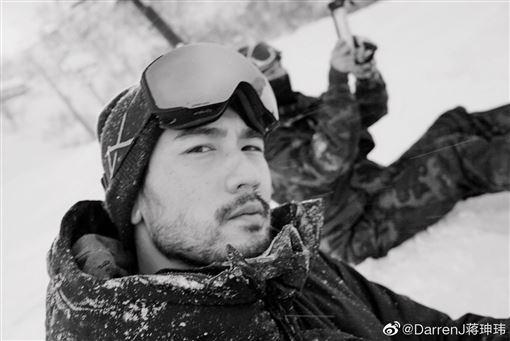 高以翔,蔣坤瑋/翻攝自微博