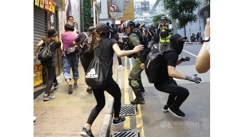 中國反制香港人權法 美籲北京守諾維持香港自治