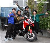 吳宗憲、陳漢典、Lulu、歐弟今(3日)出席三立《綜藝大熱門》特別節目《大熱門過年公寓3.0》記者會。圖/記者邱榮吉攝影