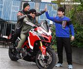 吳宗憲、陳漢典、Lulu 、歐弟錄製「綜藝大熱門」特別節目「大熱門過年公寓3.0」。(記者邱榮吉/攝影)