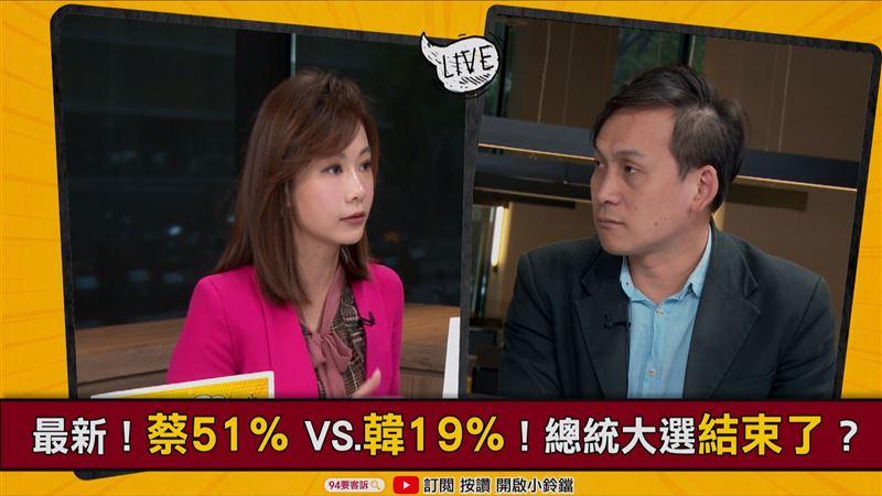 94要客訴/韓國瑜民調怎麼救?葉元之:擾亂市場
