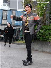 吳宗憲錄製「綜藝大熱門」特別節目「大熱門過年公寓3.0」。(記者邱榮吉/攝影)