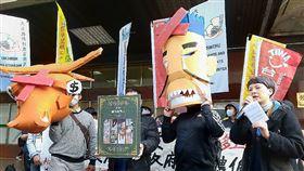 移工團體將舉辦遊行 盼廢除仲介制度台灣移工聯盟3日到勞動部前舉辦「廢除仲介制度 要政府對政府直接聘僱」行前記者會,預告將在8日舉辦移工大遊行表達訴求。中央社記者張雄風攝 108年12月3日