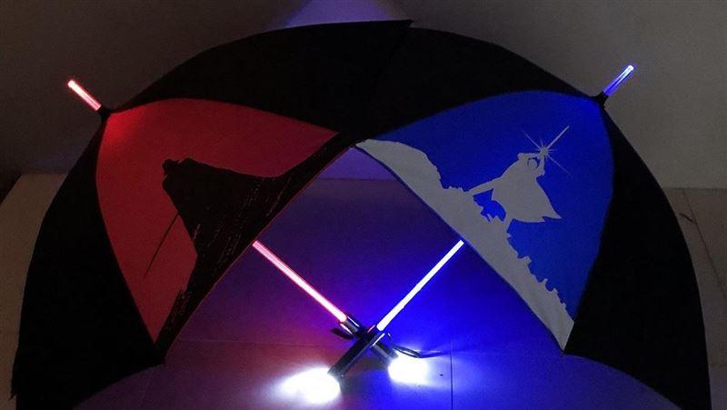 原力爆發!超商星際大戰集點超生火 必搶限量「光劍傘」