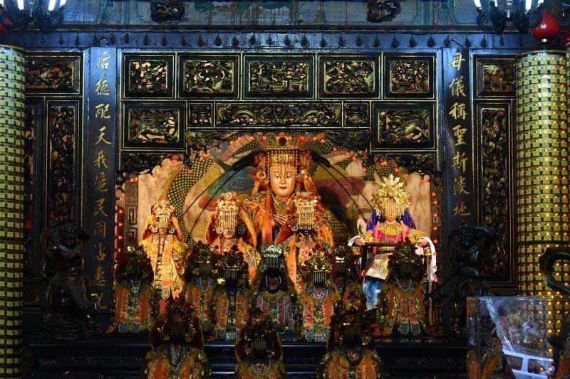 淡水四大廟 代表族群融合的福佑宮