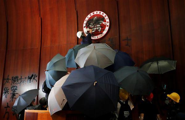 香港,反送中,CNN,2019全球大事件(圖/路透社)