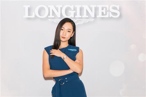 Julia 吳卓源「全新Longines浪琴表 Conquest Classic 征服者經典系列女仕腕錶」(品牌提供)
