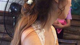 臉書,結婚,胸,胸墊,微信,婚紗,新娘,顧家,結婚,心機,微信,朋友圈,圖/翻攝自微信朋友圈