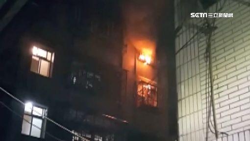 新莊公寓突竄火! 男疑要錢不成縱火燒床墊