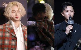 「Super Junior」/韓庚/金希澈/重逢/擁抱。新浪微博