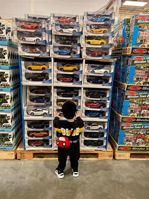好市多,Costco,汽車模型,兒童玩具區,禁區(圖/翻攝自Costco好市多 商品經驗老實說)