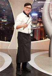 詹姆士出席三立都會台「型男大主廚」14周年記者會。(記者邱榮吉/攝影)