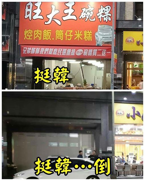 韓粉,挺韓,碗粿,小吃店,倒閉,高雄,韓國瑜